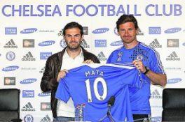 El Chelsea presenta oficialmente a Mata