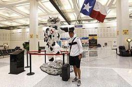 El Valencia ya está en Houston